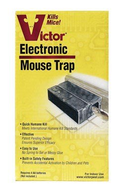 Victor Electronic Mouse Trap 50 Mice Mice by Victor
