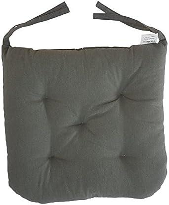 Genial Cottone 100% Cotton Chair Pads W/Ties (Set Of 12) | 16â