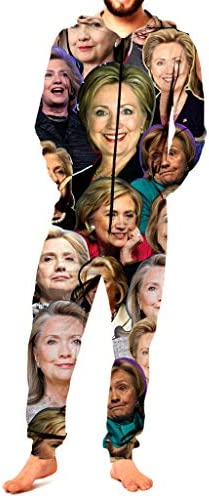 RsgeOn Let`s Rage Hillary Clinton Paparazzi Premium All Over Print Onesie