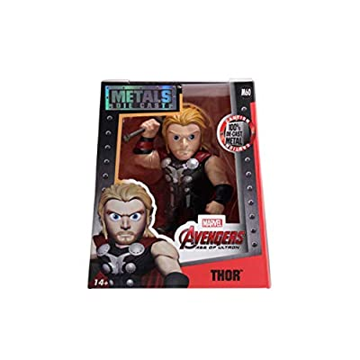 Metals Marvel 4 inch Classic Figure - Thor (M60): Toys & Games
