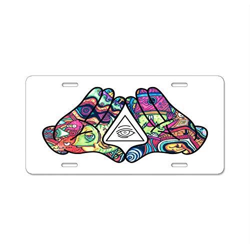 Compare price to illuminati license plate frame | DreamBoracay.com