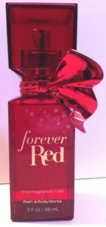 Bath and Body Works Forever Red Fine Fragrance Mist 3 Ounce Travel Size