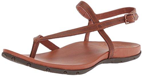 Womens Brown Rust Heels Sandals - Chaco Women's Rowan Sandal, Rust, 7 M US