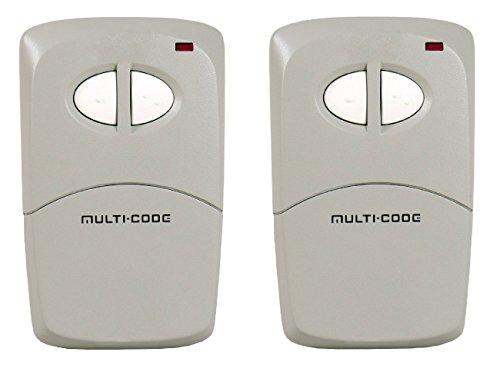 - Lot of 2 Linear Multi-Code Visor Transmitter, 2-Channel (412001)