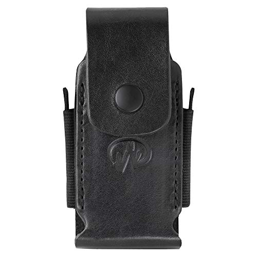 LEATHERMAN - Premium Leather Sheath with Pockets for Multitools