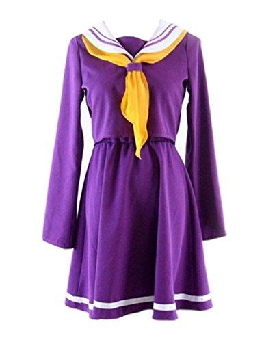 No Game No Life Shiro Costume - Women's Costume No Game No Life Shiro Large Purple