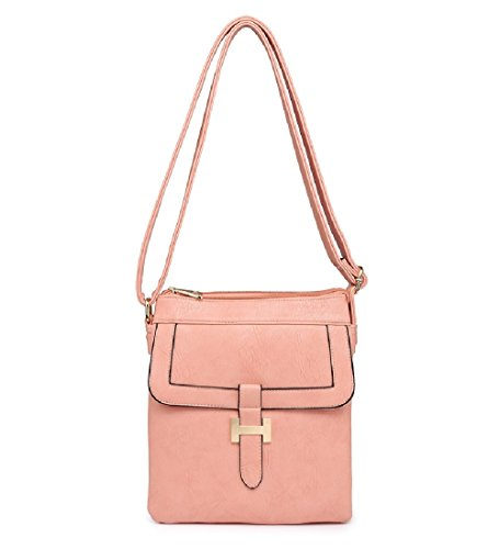 Women's Pink Ladies Body Front Handbag Cross MA34955 Bag Messenger Travel zzAIx1wqna