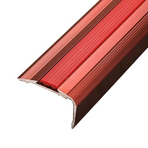 GWXFHT Building Products Threshold Strip Aluminum Alloy Wooden Floor Bead Edge Strip Blanking Strip Anti-Slip Strip Doorway Carpet Blanking Strip (Color : C)