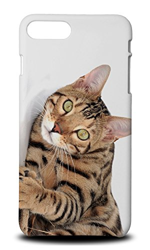 Foxercases Design Bengal Cat 1 Hard Case Cover For iPhone 8 Plus