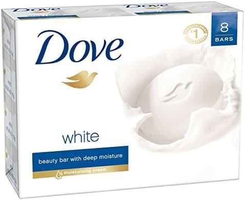 Dove Beauty Bar, White 4 oz, 8 bar