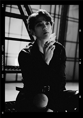 Fanstown kpop EXO LOTTO poster A3 size thicken coated paper good quality (D08)