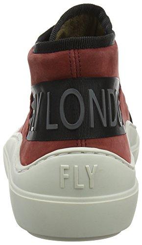 off Seek337fly Rosso bordeaux Sneaker 002 White Uomo Fly London Y7xwHpAqUU
