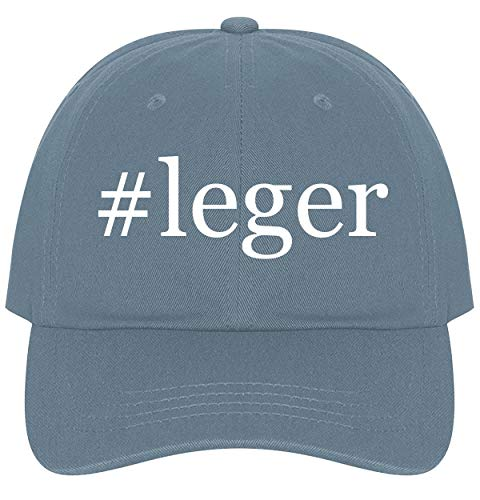 The Town Butler #Leger - A Nice Comfortable Adjustable Hashtag Dad Hat Cap, Light Blue