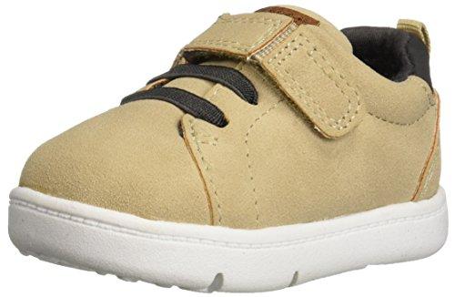 (Carter's Every Step Park2-BP Baby Boy's Walking Casual Sneaker, Khaki, 4.5 Medium US Toddler)