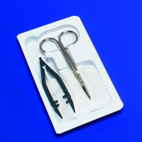 Kendall CURITY Suture Removal Kits - Case of 50 - KND66100_CS