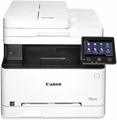 Canon Color imageCLASS MF644Cdw - All in One, Wireless, Mobile Ready, Duplex Laser Printer, White, Mid Size, Amazon Dash Replenishment enabled
