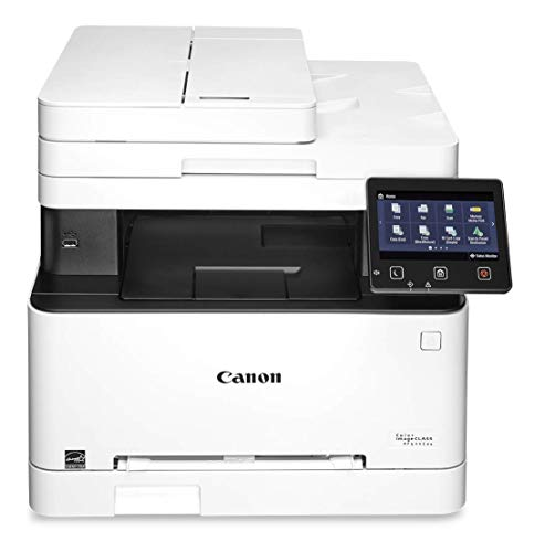 Canon Color imageCLASS MF644Cdw - All in One, Wireless, Mobile Ready, Duplex Laser Printer, White, Mid Size (Wireless Laser Printer 3 In 1)