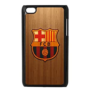 Futbol Club Barcelona S-N-Y3032545 Ipod Touch 4 Phone Back Case Personalized Art Print Design Hard Shell Protection