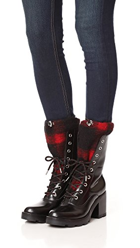 Black Sigerson Red Boot Gladys Ankle Morrison Women's CqTXwq86