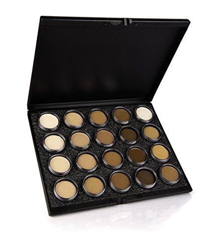 Mehron Makeup Celebre Pro-HD Cream Face & Body Makeup, 20 Color Foundation Palette by Mehron