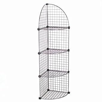 4 Shelf KC Store Fixtures Mini Grid Corner Unit