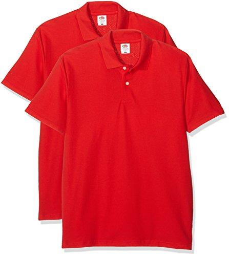 Fruit of the Loom Original Polo Camisa para Hombre: Amazon.es ...