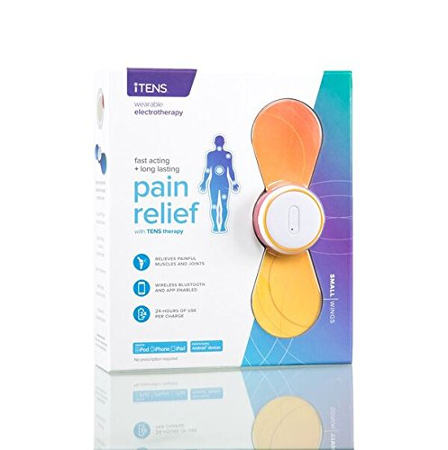 iTENS Electrotherapy Wireless Tens Unit- SMALL ORANGE