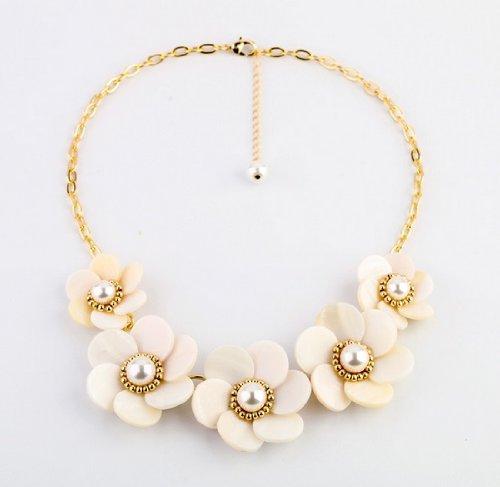 花ネックレス