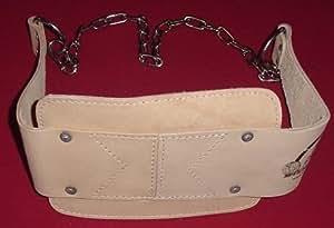 Professional Grade Dip Belt Dipping Belt Parallel Bar Belt Natural Leather