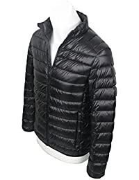 CHERRY CHICK Men's Packable Nylon Down Puffer Jacket