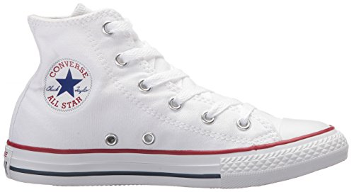 Optical White Kids Star Unisex White All Chuck Taylor Converse Hi Trainers q6z4Un8