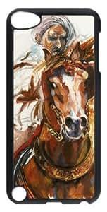 DIY Design Popular cheval-arabe-monte-en-action Especial Durable Hard Plastic Case Cover Fits Ipod Tuoch 5