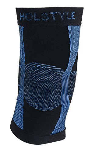 HOLSTYLE Far Infrared Rays Knee Compression Sleeve Support Brace for Men and Women1pc