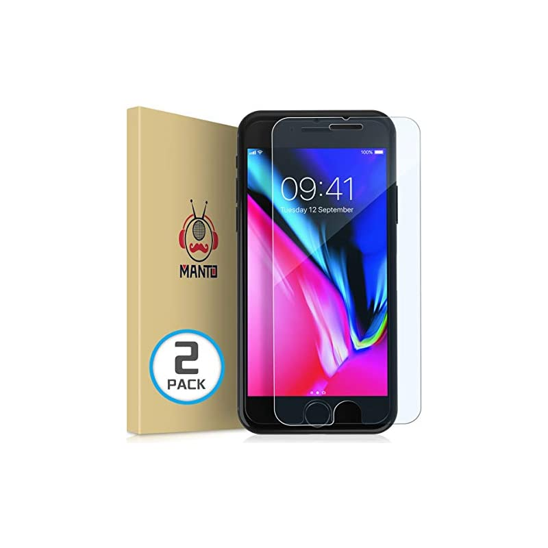 [2-Pack] iPhone 8 Plus 7 Plus 6S Plus 6