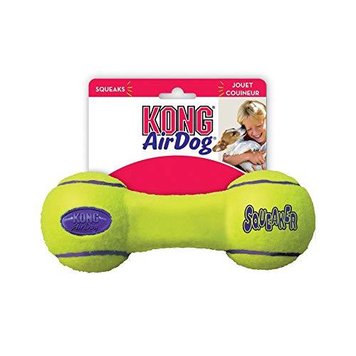 Dumbbell Squeaker Kong Air - GSParts Kong Air Dog Squeaker Dog Toy Dumbbell Large