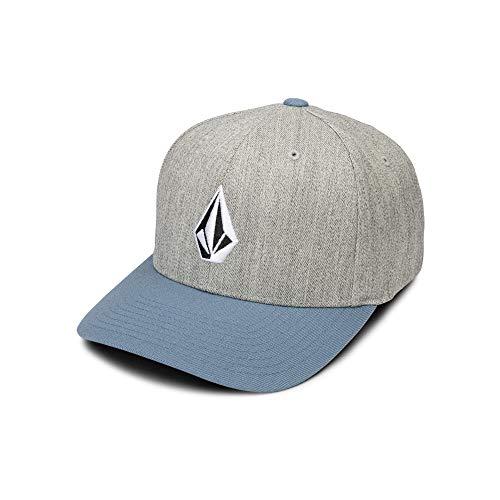 Volcom Men's Full Stone Xfit Flex Fit Hat,  Vintage Blue, Large/Extra Large - Full Stone Stretch Hat