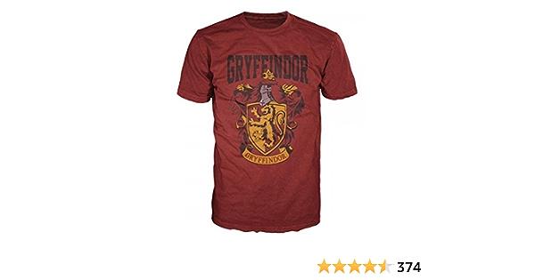 Harry Potter Gar/çon Gryffindor Lozenge T-Shirt