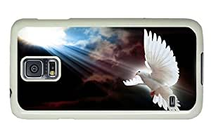 Hipster Samsung Galaxy S5 Cases good dove sun rays PC White for Samsung S5