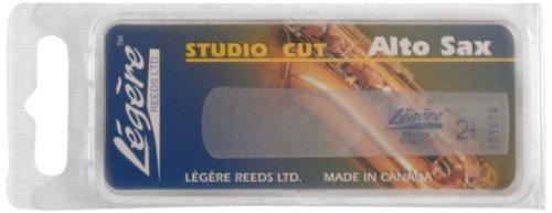 Legere ASS250 Eb Alto Saxophone Studio Cut No. 2.5 Reed