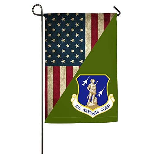 NPZBHoney30X45 United States Air Force National Guard Classic Garden Flag Decorative Flags for Outdoors - 12