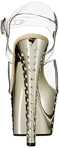 Chrome Pleaser Gold Donna 708 Stardust Sandali Clr f1qaYfx