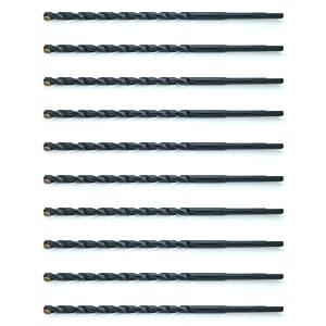 "Ten (10) 5/32"" x 5-1/2"" Carbide Tip Masonry Drill Bits for Concrete, Brick, or Block (BCP535)"