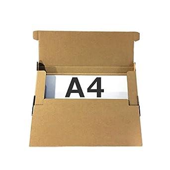 【A4厚み25mm】ネコポス用ダンボール箱 外寸312×228×25mm(紙厚2mm)【20枚セット】 クリックポスト ポスパケット ゆうパケット  飛脚メール便 定形外郵便