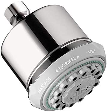 Hansgrohe 28496001 Clubmaster Shower Head, Chrome