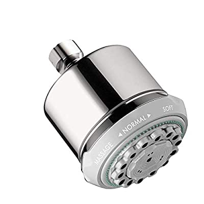 Image of Hansgrohe 28496001 Clubmaster Shower Head, Chrome