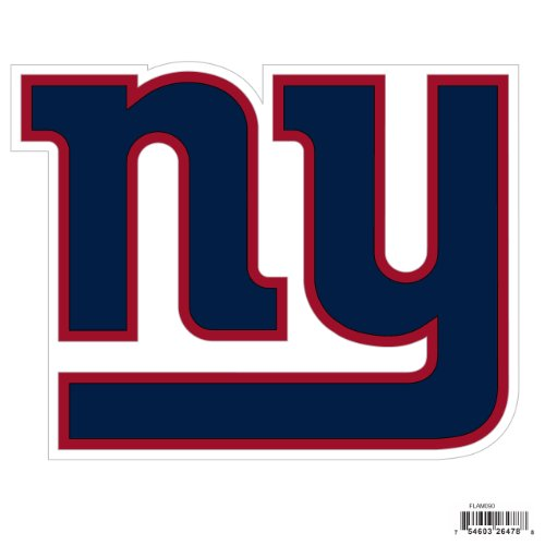 Siskiyou NFL New York Giants Automotive Magnet, 8-Inch