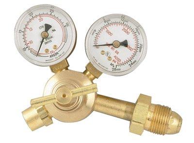 Radnor RAD64003036 Model AF150-580 Victor Style Single Stage Argon/Argon/Carbon Dioxide Mix Flow gauge Regulator, CGA-580