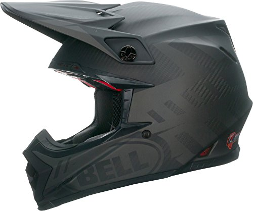 Bell Moto-9 Flex Off-Road Motorcycle Helmet (Matte Syndrome Black, X-Large)