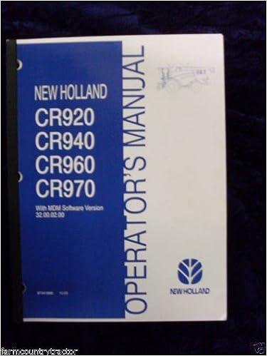 cr 970 new holland service manual