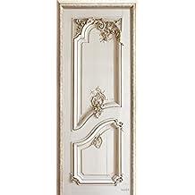 """""""Velvet Decor Left Panelling Door"""" French wallcovering and wallpaper design"""